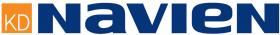 Дымоход Navien комплект для корейских котлов ESR L=1м  (задний)